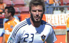 news form houston david beckham la galaxy