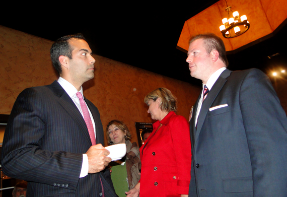 joseph earnest and george p. bush texas land commissioner newscastmedia.com