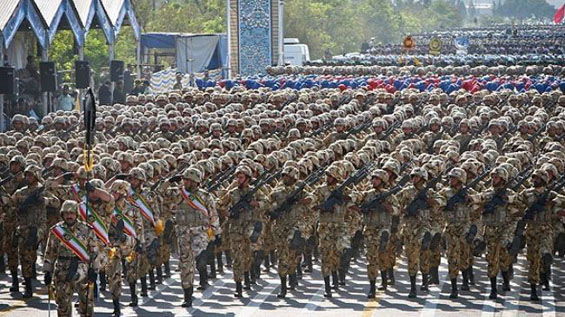 iran armed forces