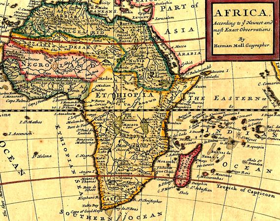 ancient ethiopia africa map